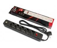 Мережевий фільтр FrimeCom FC-BU4005W 1.8 m 5 розеток + 2 USB