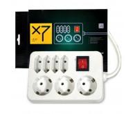 Logicpower LP-X7, белый, 5м