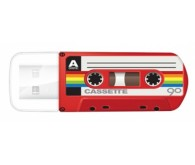 VERBATIM USB Drive 32Gb MINI CASSETTE EDITION Червоний 49392