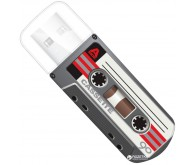 VERBATIM USB Drive 32Gb MINI CASSETTE EDITION Чорний 49391