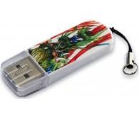 USB 8Gb VERBATIM  STORE'N'GO MINI TATTOO DRAGON 49884