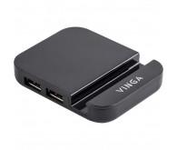 Хаб USB2.0 4xUSB 2.0, без БП Vinga HUB011B
