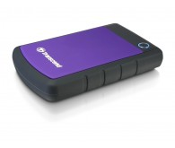 Зовнішній жорсткий диск USB HDD: Transcend StoreJet 25H3P 500GB 2.5 USB 3.0 Black/Purple