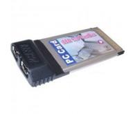 Контролер IEEE 1394 PCMCIA, 2 порти