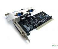 Контролер PCI Combo Parallel+Serial-PCI (LPT+Com) 2s+1p (WCH 352 chipset)