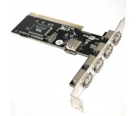 Контролер PCI-USB 4+1port (NEC chipset)