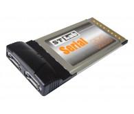 Контролер Serial ATA ST-Lab C-171 - 2 порти; Роз'єми: 2xSATA; max 2 HDD; PCMCIA Type II; підтримка W