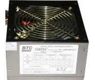 Блок живлення:BTC PS-PF500ATX