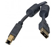 Кабель USB (AM/BM) 1.8M (для принтера, сканера) чорний