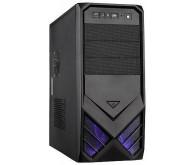 Корпус FrimeCom LB 081 BL 400W Black: ATX, mATX; Midi-Tower; Характеристика блока живлення: 400 Вт
