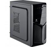 Корпус Vinga CS103B Miditower, ATX, 400Вт, Audio, 2xUSB 2.0, чорний