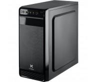 Корпус Vinga CS102B Miditower, ATX, 400Вт, Audio, 2xUSB 2.0, чорний