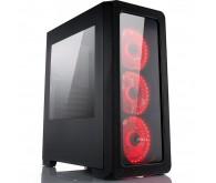 Корпус Vinga CS209B Red