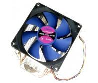 Вентилятор ATcool Aero X2 ball bearing (2 мідні трубки, 92 мм. вентилятор), універсальний AMD/Intel