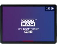 Твердотільний накопичувач SSD Goodram CX400 256GB 2.5 SATAIII 3D TLC (SSDPR-CX400-256)