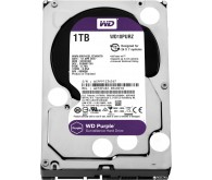 Накопичувач HDD: 1Tb 7200 SATA III Western Digital Purple WD10PURZ