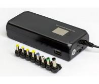 Блок живлення для ноутбука універсальний HQ-Tech HQ-A120MU LCD, 120W
