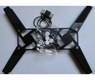 Охолоджуюча підставка DATEX MCP-01 plastic подст. для ноут. Серебро H