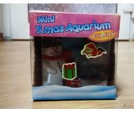 Акваріум - Сніговик з USB підсвічуванням