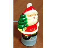 Дід Мороз з ялинкою з USB підсвічуванням. .