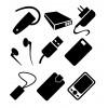 Зарядні пристрої та батареї