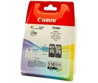 Комплект картриджів CANON Pixma MP260 CL-511+PG-510 оригінальний