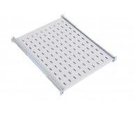 Полка для шафи телекомунікаційної  1U, 400 mm 19