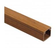 Короб кабельний 25x25/200 1м коричневий
