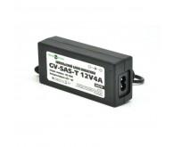 Блок живлення Green Vision GV-SAS 12V4A пластик