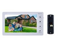 Відеодомофон комплект SEVEN DP-7574 KIT білий / чорний
