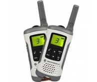 Портативна рація Motorola TLKR T50 White до 6 км, 0.5 Вт, 8 каналів, 121 субканалів, акумулятор, 5 м