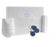 Бездротова GSM система охорони Лунь-25Е комплект (для ДСО + автономка)