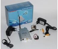 Комплект бездротового відеоустаткування (камера RC100A Color + Мікрофон + приймач CM208), камера - (